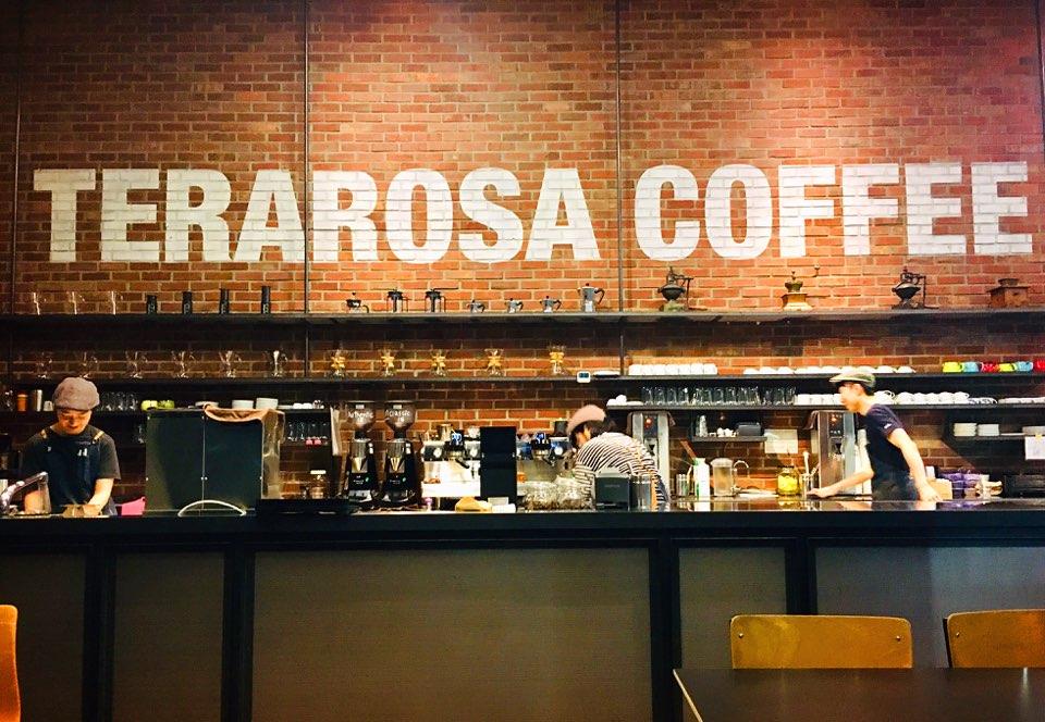 테라로사 커피(TERAROSA COFFEE)의 바리스타들
